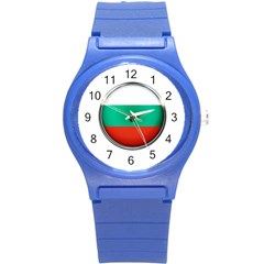 Bulgaria Country Nation Nationality Round Plastic Sport Watch (s)