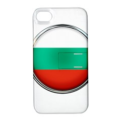 Bulgaria Country Nation Nationality Apple Iphone 4/4s Hardshell Case With Stand