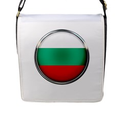 Bulgaria Country Nation Nationality Flap Messenger Bag (l)