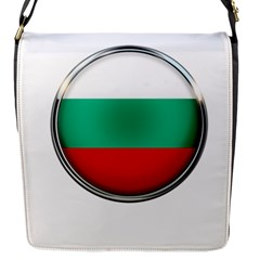 Bulgaria Country Nation Nationality Flap Messenger Bag (s)