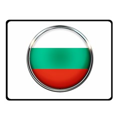Bulgaria Country Nation Nationality Double Sided Fleece Blanket (small)
