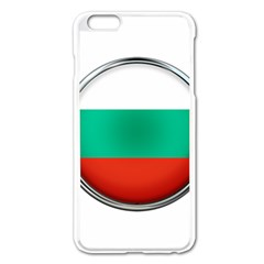 Bulgaria Country Nation Nationality Apple Iphone 6 Plus/6s Plus Enamel White Case by Nexatart