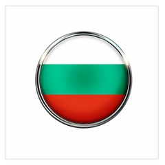 Bulgaria Country Nation Nationality Large Satin Scarf (square)