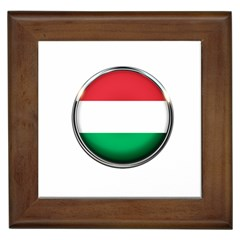 Hungary Flag Country Countries Framed Tiles