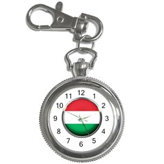 Hungary Flag Country Countries Key Chain Watches