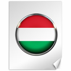 Hungary Flag Country Countries Canvas 12  X 16