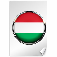 Hungary Flag Country Countries Canvas 20  X 30