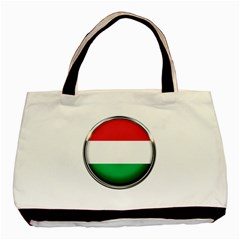 Hungary Flag Country Countries Basic Tote Bag (two Sides)