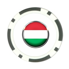 Hungary Flag Country Countries Poker Chip Card Guard (10 Pack)
