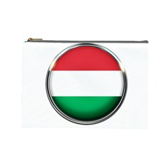 Hungary Flag Country Countries Cosmetic Bag (large)