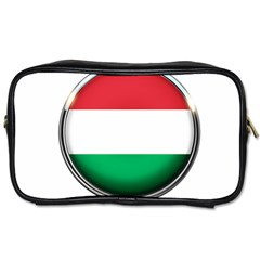 Hungary Flag Country Countries Toiletries Bags 2 Side