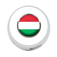 Hungary Flag Country Countries 4 Port Usb Hub (one Side) by Nexatart