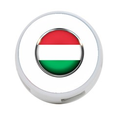Hungary Flag Country Countries 4 Port Usb Hub (two Sides)  by Nexatart
