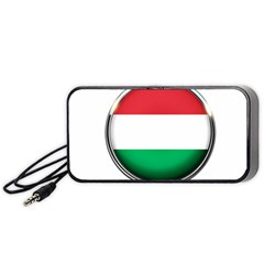 Hungary Flag Country Countries Portable Speaker