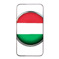 Hungary Flag Country Countries Apple Iphone 4/4s Seamless Case (black)