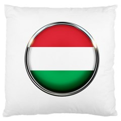 Hungary Flag Country Countries Large Cushion Case (one Side)