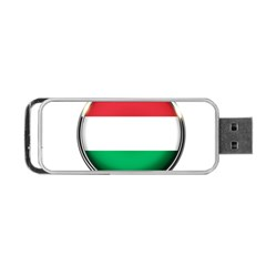 Hungary Flag Country Countries Portable Usb Flash (one Side)