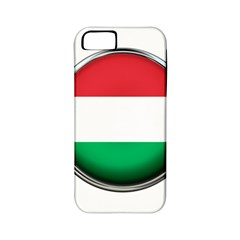 Hungary Flag Country Countries Apple Iphone 5 Classic Hardshell Case (pc+silicone)