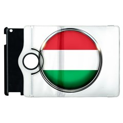 Hungary Flag Country Countries Apple Ipad 3/4 Flip 360 Case
