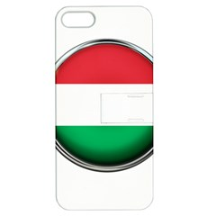 Hungary Flag Country Countries Apple Iphone 5 Hardshell Case With Stand
