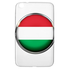 Hungary Flag Country Countries Samsung Galaxy Tab 3 (8 ) T3100 Hardshell Case