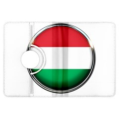 Hungary Flag Country Countries Kindle Fire Hdx Flip 360 Case