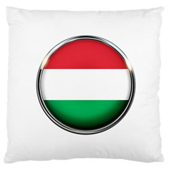 Hungary Flag Country Countries Standard Flano Cushion Case (two Sides)