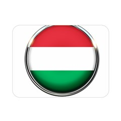 Hungary Flag Country Countries Double Sided Flano Blanket (mini)