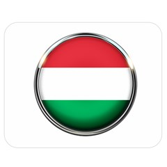 Hungary Flag Country Countries Double Sided Flano Blanket (medium)