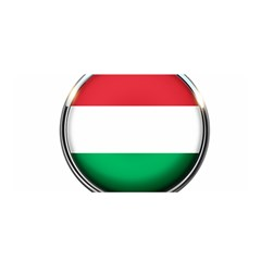 Hungary Flag Country Countries Satin Wrap