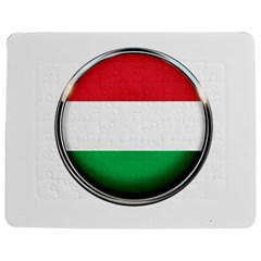 Hungary Flag Country Countries Jigsaw Puzzle Photo Stand (rectangular)