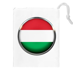 Hungary Flag Country Countries Drawstring Pouches (xxl)
