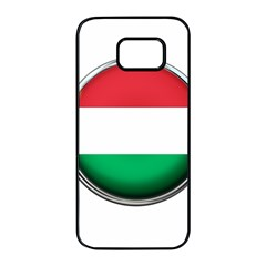 Hungary Flag Country Countries Samsung Galaxy S7 Edge Black Seamless Case