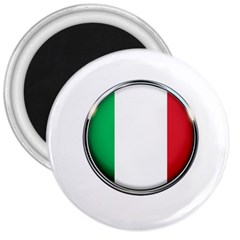 Italy Country Nation Flag 3  Magnets