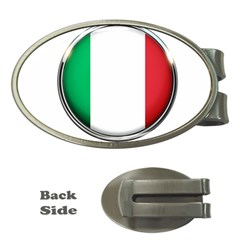 Italy Country Nation Flag Money Clips (oval)