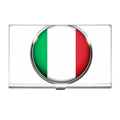 Italy Country Nation Flag Business Card Holders