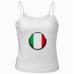 Italy Country Nation Flag Ladies Camisoles