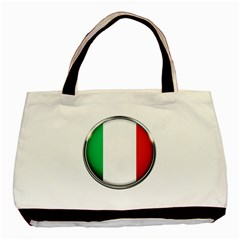 Italy Country Nation Flag Basic Tote Bag