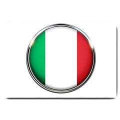 Italy Country Nation Flag Large Doormat