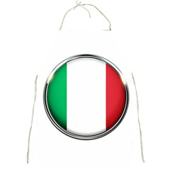 Italy Country Nation Flag Full Print Aprons