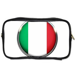 Italy Country Nation Flag Toiletries Bags 2 Side