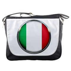 Italy Country Nation Flag Messenger Bags