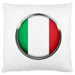 Italy Country Nation Flag Large Cushion Case (two Sides)