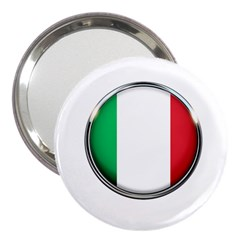 Italy Country Nation Flag 3  Handbag Mirrors