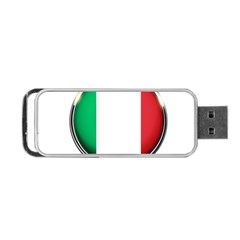 Italy Country Nation Flag Portable Usb Flash (two Sides)
