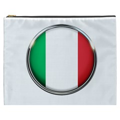 Italy Country Nation Flag Cosmetic Bag (xxxl)