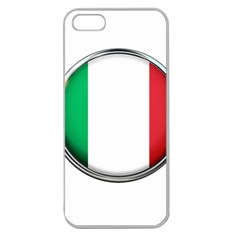 Italy Country Nation Flag Apple Seamless Iphone 5 Case (clear)