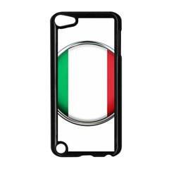 Italy Country Nation Flag Apple Ipod Touch 5 Case (black)