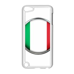 Italy Country Nation Flag Apple Ipod Touch 5 Case (white)
