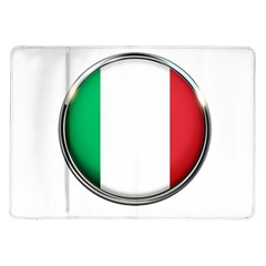 Italy Country Nation Flag Samsung Galaxy Tab 10 1  P7500 Flip Case